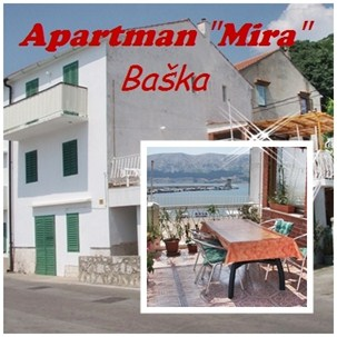 Apartments Mira, Baska