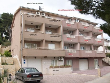 Apartments Nedo, Omis